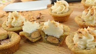 Candy Bar Stuffs - Butterfinger Filled Cookies Recipe | Radacutlery.com