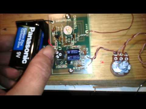 FM Transmitter/Oscillator Velleman Kit K1771 Mini Portable Pirate Radio Station