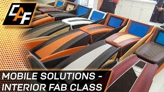 The Mobile Solutions Interior Fabrication Training Experience!