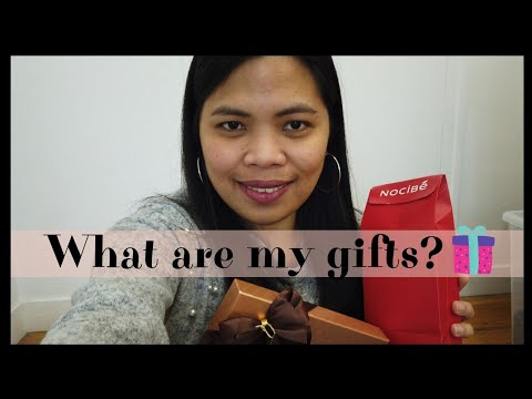 Opening my Christmas gifts from my hubby and my mother-in-law|Filipina in France