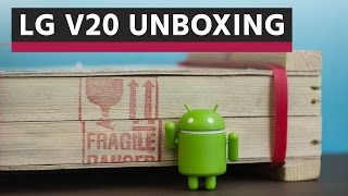 LG V20 Unboxing
