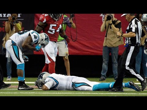 Cam Newton Suffers Brutal Concussion, Taken Out Of Game