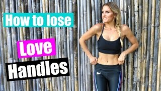 How To Lose Love Handles | Rebecca Louise