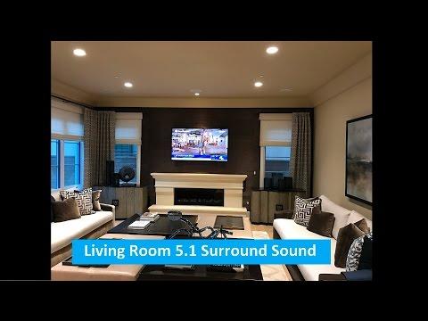 Living Room 51 Surround Sound System