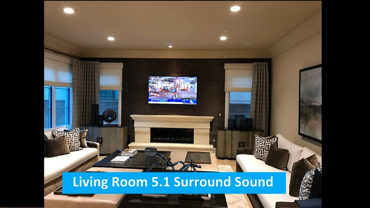 Living Room 5.1 Surround Sound System Part 40