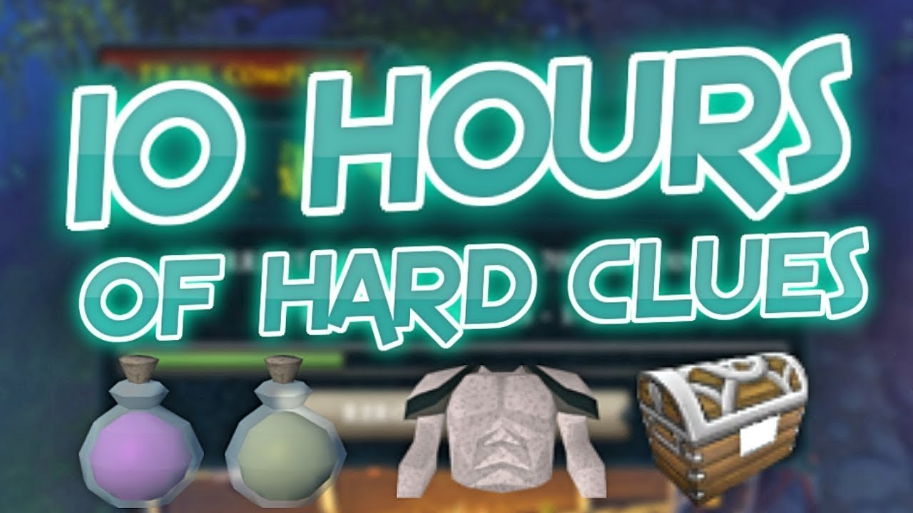 Loot From 10 Hours of Hard Clue Scrolls - Road To All Dyes Episode 147 [Runescape 3]
