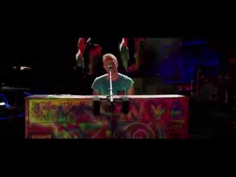 Coldplay  The Scientist HD part of the concert film  2012