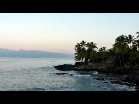 Beach scenery and sounds - Kahana Sunset Resort Maui (dawn #2)