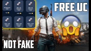 FREE UC For PUBG MOBILE NOT FAKE MUST WATCH!