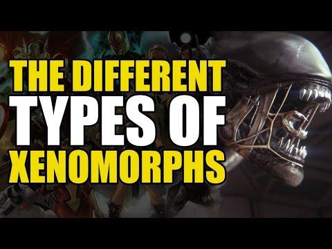 Every type of AlienXenonorph Movies, Comics & Games