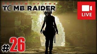 """[Archiwum] Live - Shadow of the Tomb Raider! (9) - [2/3] - """"Akwedukt i czasówki"""""""