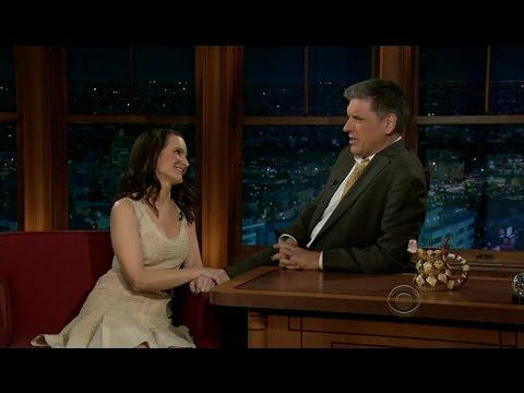 Late Late Show with Craig Ferguson 3/9/2012 Kristin Davis, Chris O'Dowd