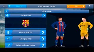 Como poner escudos y kits, (logos uniformes) al dream league soccer 2017 en android. tutorial facil.