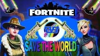 Fortnite Save The world weapon Giveaway 130 & 106 #PS4Live FULL HD