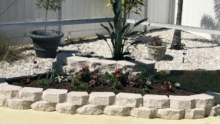 Diy | How To Build A Retaining Wall With Blocks | Home Decor Ideas