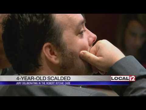 Jury breaks for the day in trial of father charged in son's scalding to death