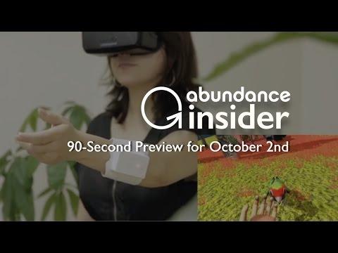 Abundance Insider Preview: October 2nd
