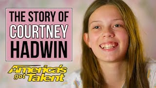 The Story of Courtney Hadwin and her journey to the America's Got Talent Finals | AGT 2018