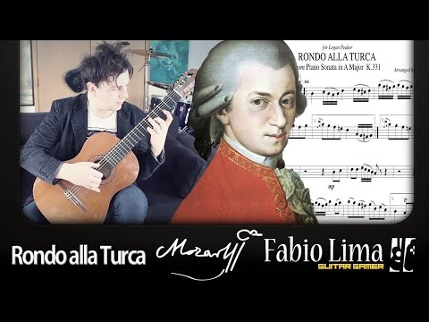 W. A. Mozart - Rondo alla Turca (Turkish March) by Fabio Lima