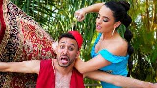 Aladdin & Jasmine Break Up | Anwar Jibawi