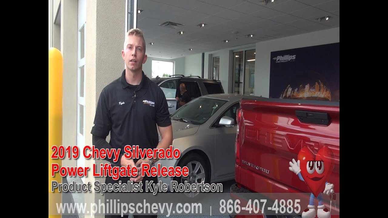 Chevy Silverado At Phillips Chevrolet Power Liftgate Release - Phillips chevy car show