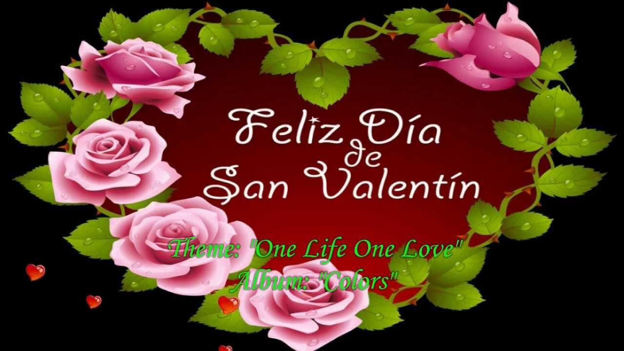 Canción Para El Día De San Valentín Youtube