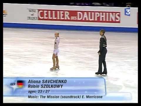 Aliona SAVCHENKO & Robin SZOLKOWY Germany LS Skate 2007 - GOLD