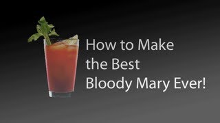 Juicy Sophie Reade makes a homemade Bloody Mary