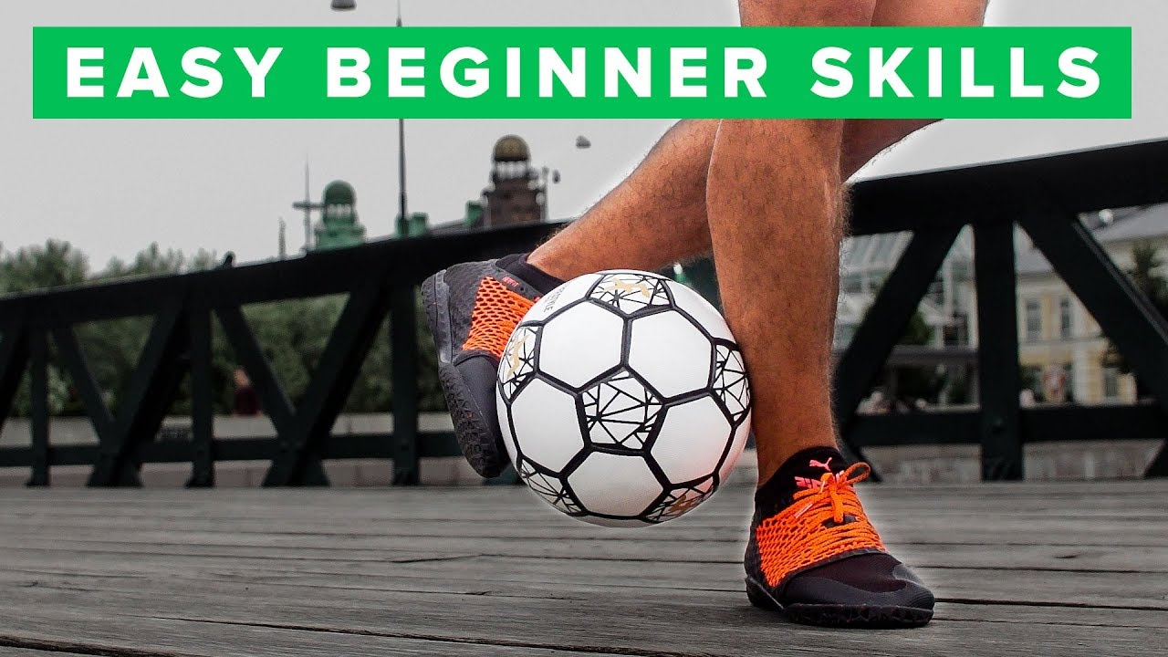 Learn easy football skills for (beginners) - edayfm.com