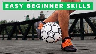 Learn 3 Easy Beginner Football Skills