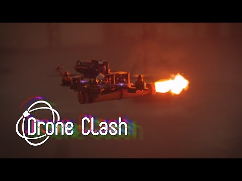DroneClash: the next level drone competition