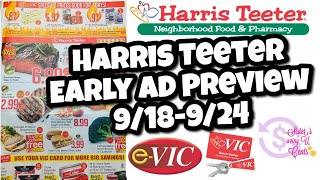 Harris Teeter Deals & Early Ad Preview 9/18-9/24
