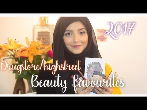 2017 Drugstore/Highstreet Beauty Favourites! | The Blushing Giraffe