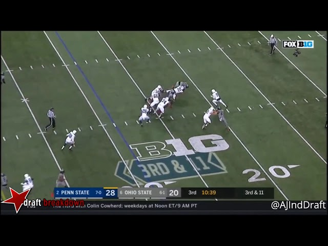 Nick Bosa (Ohio State EDGE) vs Penn State - 2017  Nick Bosa sddefault