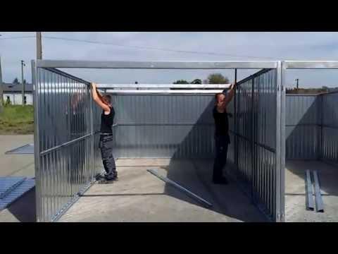 Montare garaj metalic în Sighetul Marmației