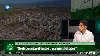 Según Isaías Ledesma, el dinero para viviendas sociales no debe usarse para fines políticos