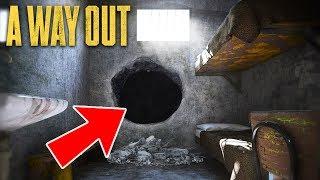 PRISON BREAK & ESCAPE!! (A Way Out)