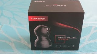 KAMTRON Wi-Fi Home Security Camera-Unboxing & Review