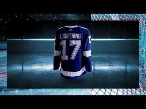 big sale 8cc35 399a8 Tampa Bay Lightning - Adidas Jersey
