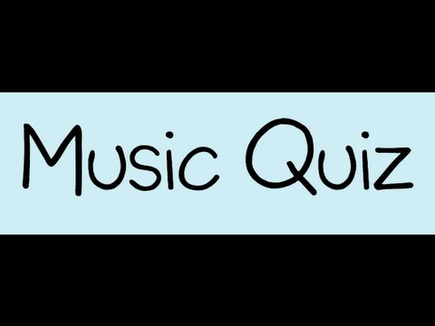 Music Quiz With Answers 2012