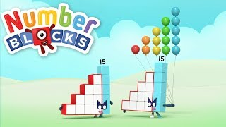 Numberblocks 14 & 15 | New Numberblocks Collection | Learn Counting