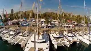 Catamaran Party @ Barcelona Boat Show  2014  by Catamarans Barcelona