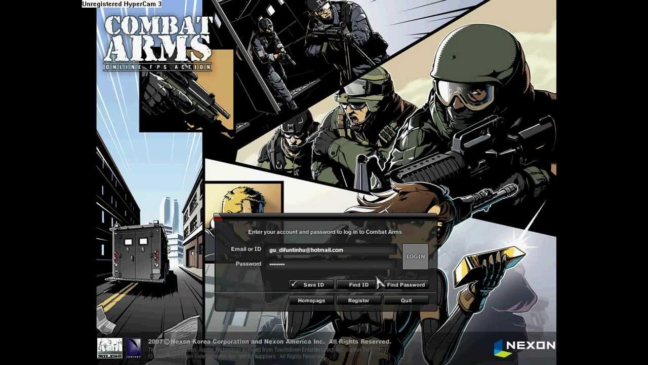 usaip para combat arms americano