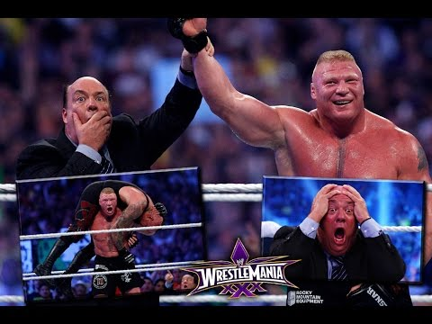 PAUL HEYMAN'S SHOCKING CONSPIRACY THEORY ON BROCK LESNAR CONQUERING THE UNDERTAKER'S STREAK