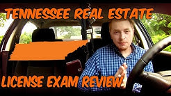Tennessee Real Estate License Exam REVIEW!!