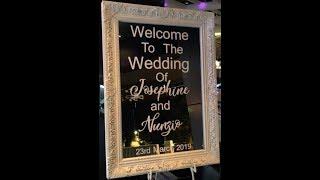 Josephine & Nunzio Wedding