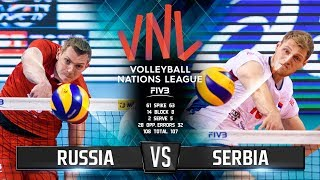 Волейбол | Россия vs Сербия | Лига Наций 2018 / Russia vs Serbia | Volleyball Nations League 2018
