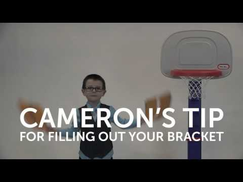 Slam Dunk for Boston Children's - Cameron's Tip for filling out your bracket