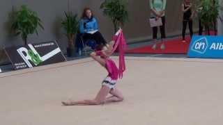 Marine Leloup ruban 15 International Rhythmic Cup Mol