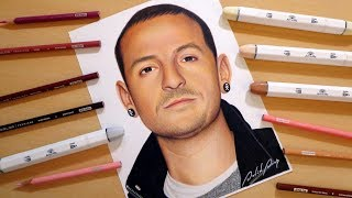 Speed Drawing: Chester Bennington | Linkin Park